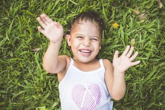 Joy Happiness Happy Happy Children Girl Playing