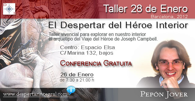 Taller Viaje del Héroe - 28 Enero - Pepón Jover
