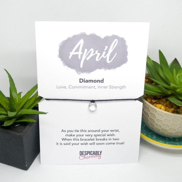 April Birthstone Bracelet