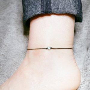 Tiny heart Anklet