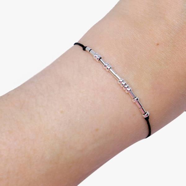 Custom Morse Code Bracelets