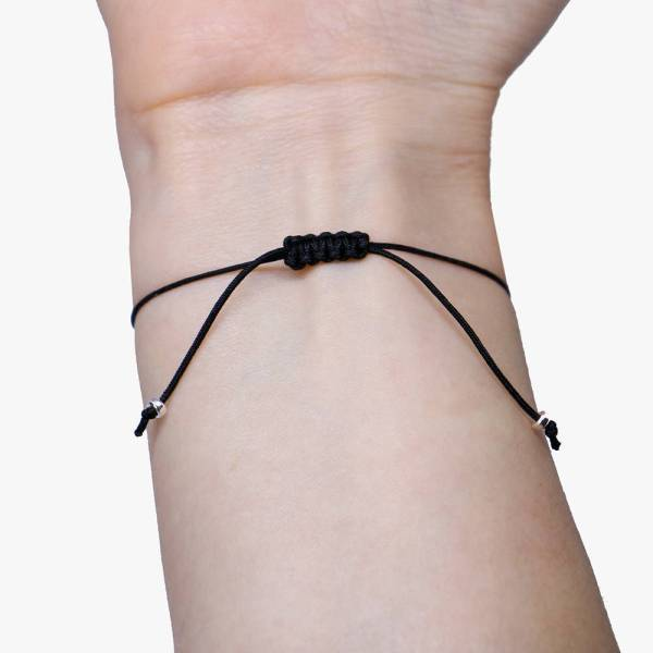 Mother Daughter Morse Code Bracelet