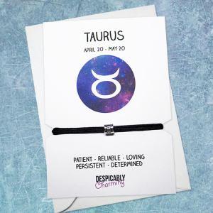 Zodiac bracelet - Taurus