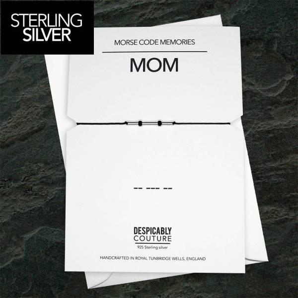 Mom Morse code bracelet
