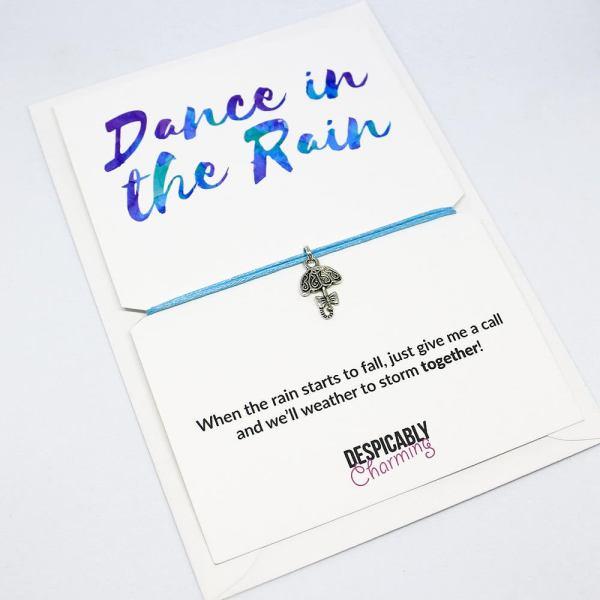 Dance in the rain friendship bracelet