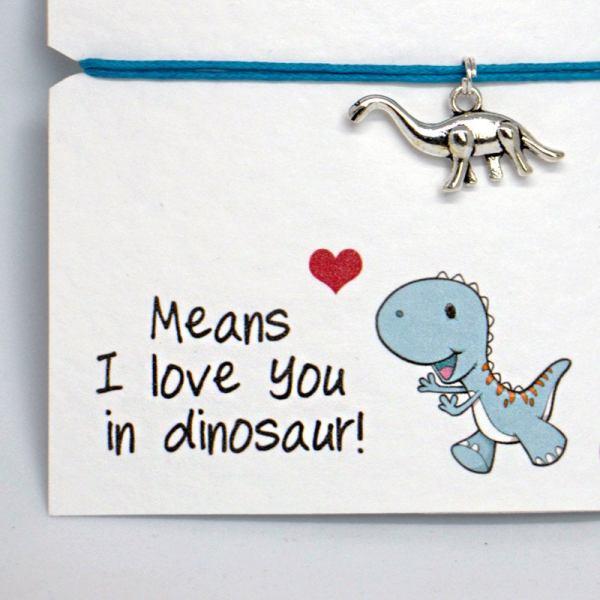 Dinosaur Friendship Bracelet