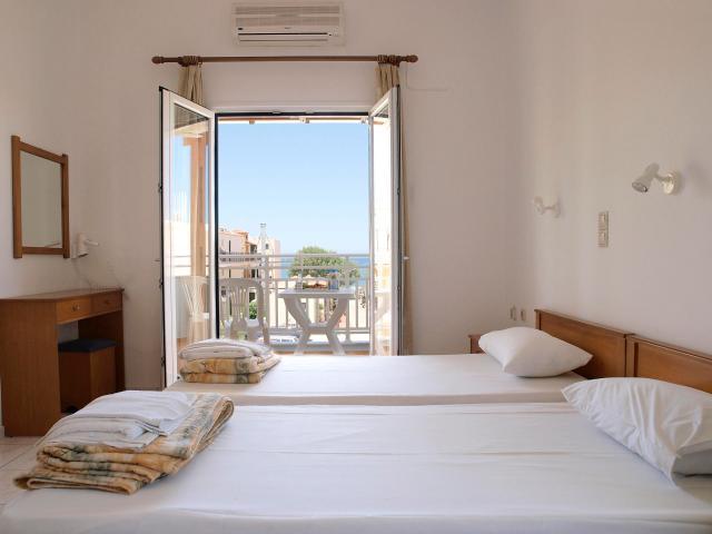 Despina Studios Hotel in Agia Marina Chania- Sea View Rooms (Room 205)