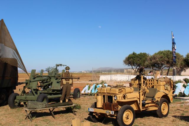 Things to do in Chania: Visit Maleme Airport Commemoration for world war 2 - Battle of Crete military vehicles