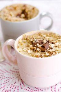 Mug Cake cookie et céréales