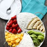 Coconut Cream Fruit Dip (+ Video)