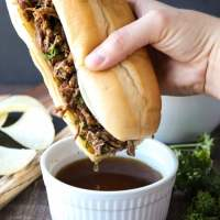 Instant Pot French Dip Sandwiches (+ Video)