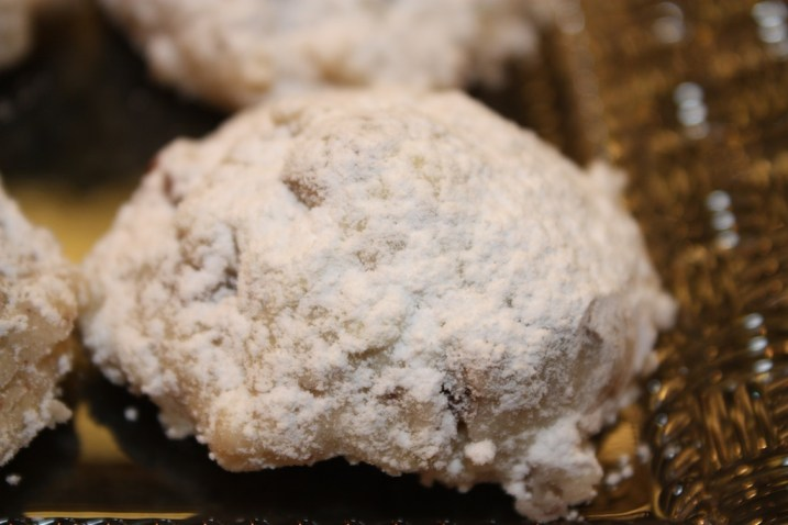 Key Lime Snowball Cookies