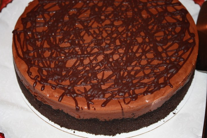Bailey's Chocolate Mousse Cheesecake