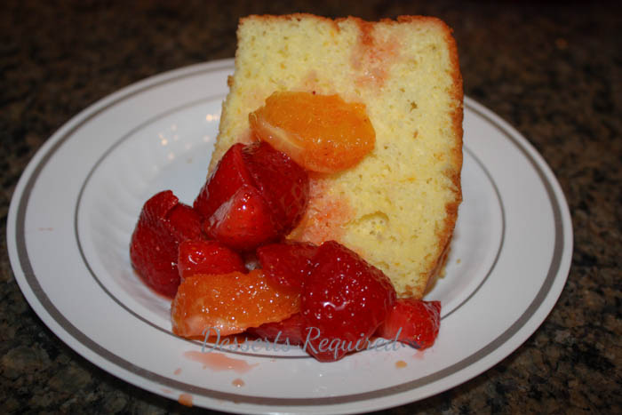 Desserts Required - orange sponge cake