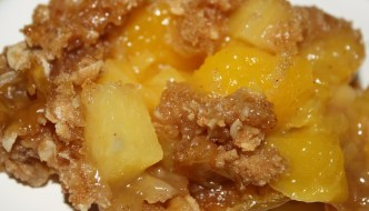 Desserts Required's Mango Pineapple Crisp