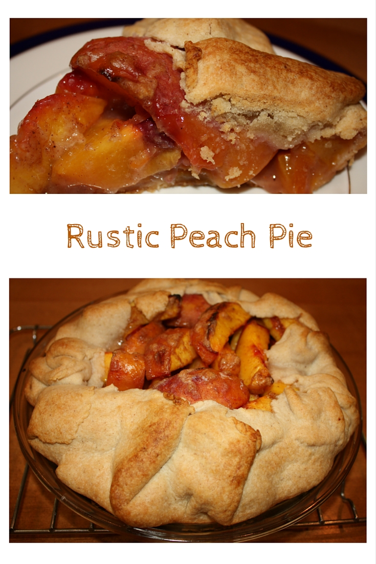 Take advantage of gorgeous peaches with Rustic Peach Pie. The single crust means the recipe is a breeze to put together. Bring on the yum!