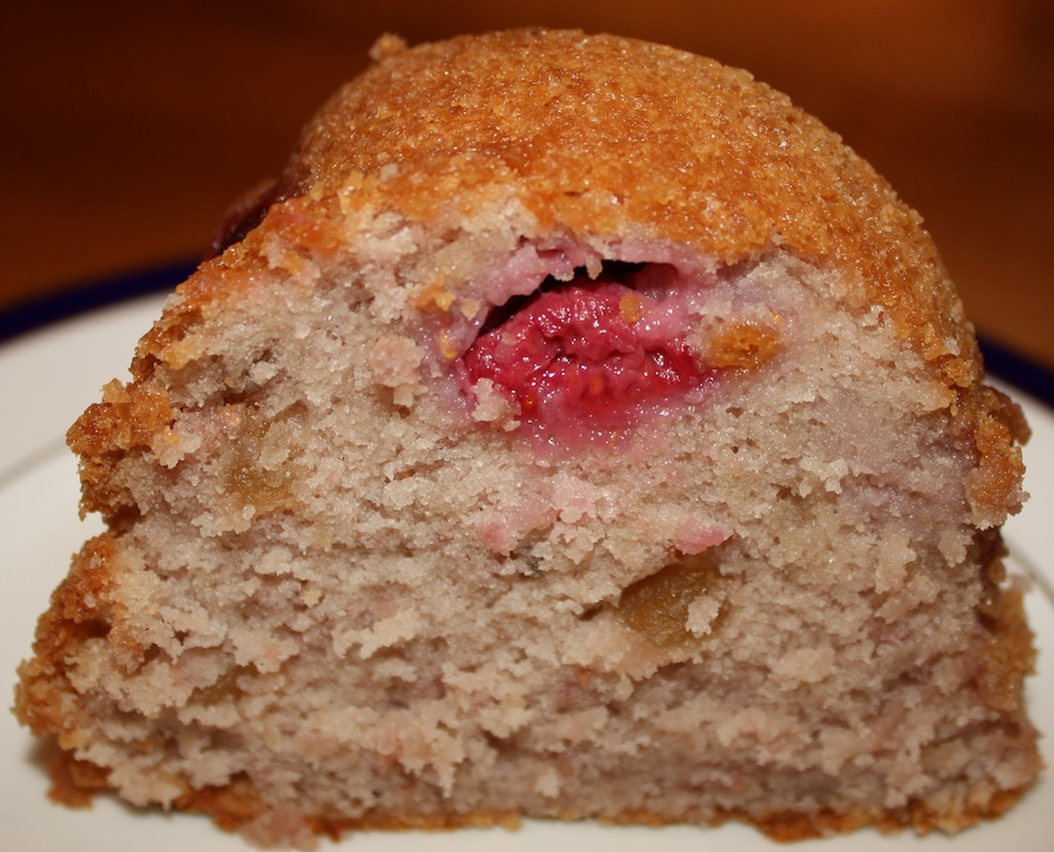Desserts Required - Raspberry Ginger Cake