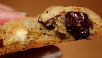 Cherry-White Chocolate-Macadamia Nut Cookies