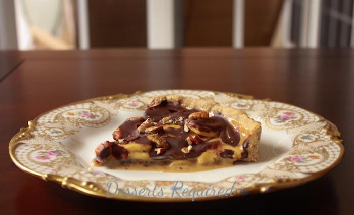 Desserts Required - dulce banana tart