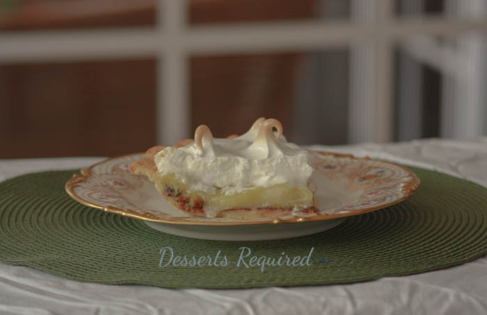 Desserts Required - Lemon Kiwi Meringue Pie