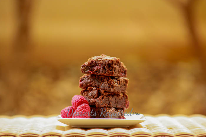 Desserts Required - Raspberry Marshmallow Brownies