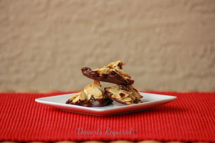 Desserts Required - almond cherry cookies