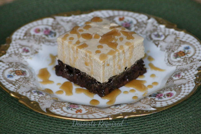 Desserts Required - Caramel Macchiato Brownies