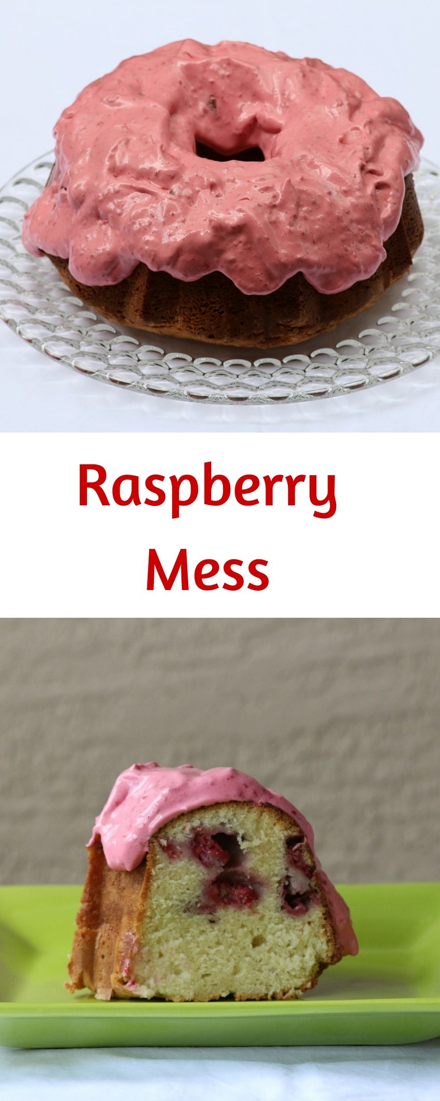 Raspberry Mess is a name that does not accurately define this gorgeous dessert. An easy to follow topping recipe that goes over your favorite cake.