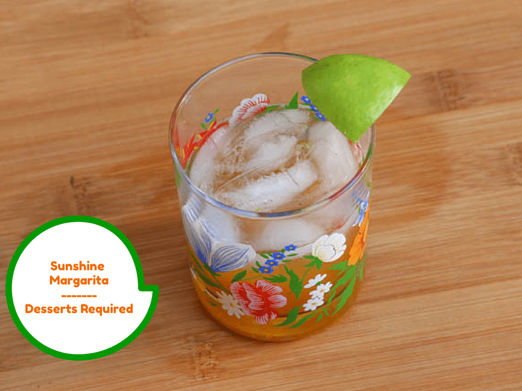 Desserts Required - Sunshine Margarita