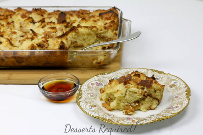 Desserts Required - Apple ChallahBakedFrench Toast