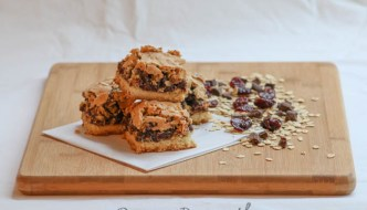 You'll strike gold with Desserts Required's Oatmeal Cherry Chocolate Bars that are filled with loads of thick cut oats, dried cherries and chocolate chips.