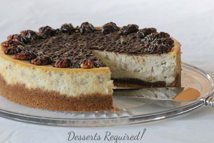 Desserts Required - Banana Cheesecake