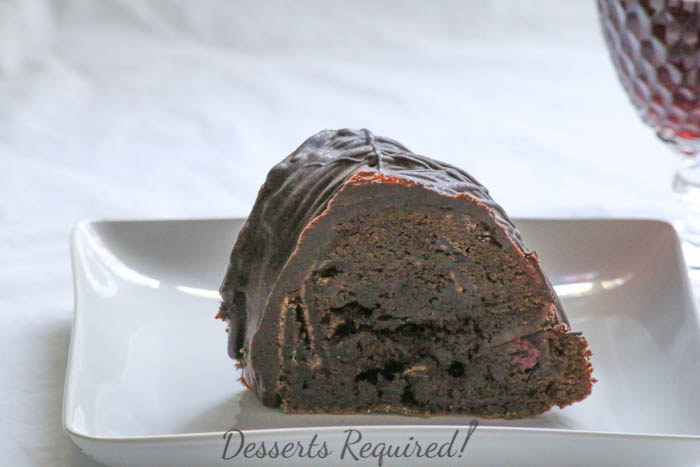 Triple Berry Bundt Cake Recipe