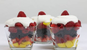Fruit Parfait  #SundaySupper
