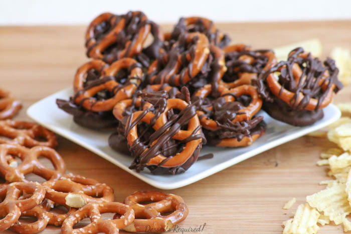 Desserts Required - Pretzel Chip Towers