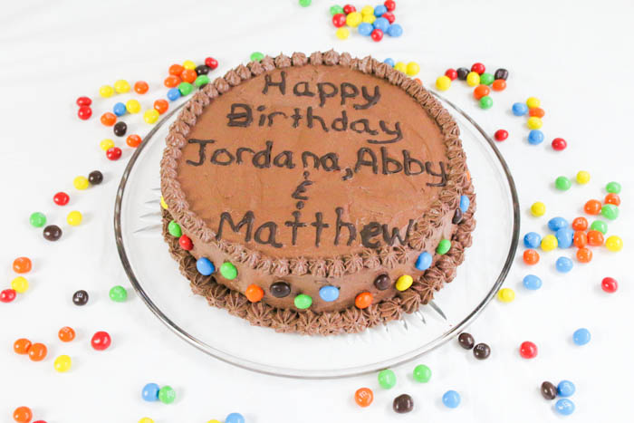 Desserts Required - Chocolate Cake with Chocolate Buttercream