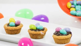 Even if Easter is not your holiday, Desserts Required's Cookie Dough Birds' Nests are too good not to make. They are a great way to incorporate Easter candy into a recipe.
