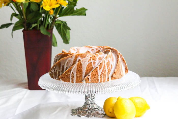 Desserts Required's Coconut Bundt Cake with Lemon Filling is made in a gorgeous swirl bundt pan. It's easy to follow the recipe which yields an elegant and beautiful cake.