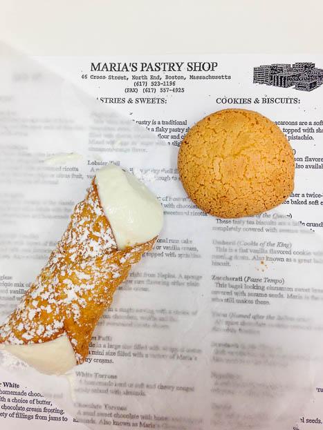 Dessert Quest Boston - Maria's Pastry Shop
