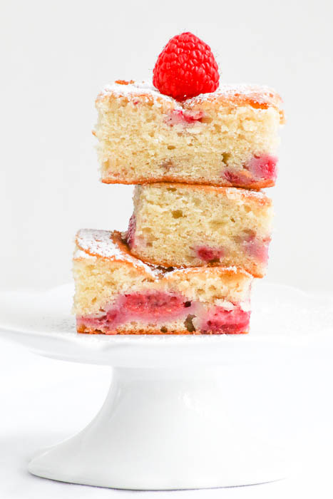 Raspberry Pound Cake Brownies offer the decadence of cake with the simplicity of brownies. An easy to follow recipe with terrific baking results.