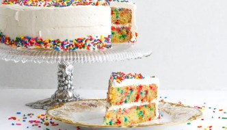 Gluten Free Confetti Cake  #WeekdaySupper