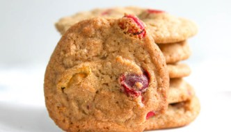 M & M Autumn Spice Cookies