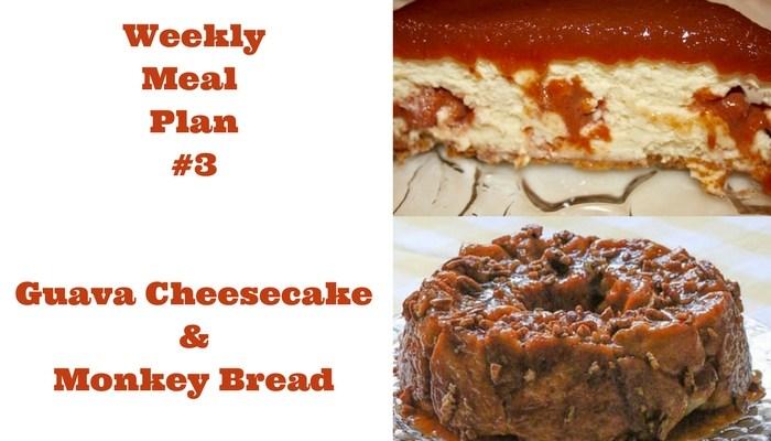 Weekly Meal Plan #3