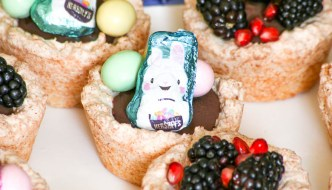 Passover and Easter Coconut Chocolate Nests
