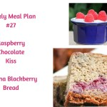 Weekly Meal Plan #27