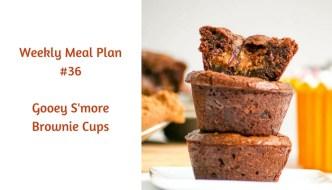 Weekly Meal Plan #36