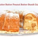 Nutter Butter Peanut Butter Bundt Cake