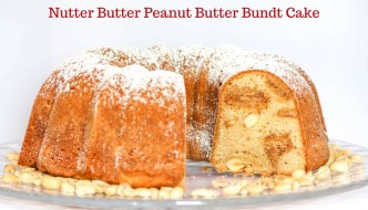 Nutter Butter Peanut Butter Bundt Cake is a fun twist that includes peanut butter, peanut butter sandwich cookies and peanuts. GO NUTS!