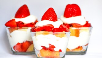 Strawberry Shortcake Parfait