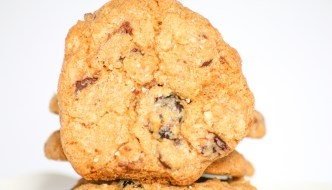 Oatmeal Cranberry Toffee Cookies